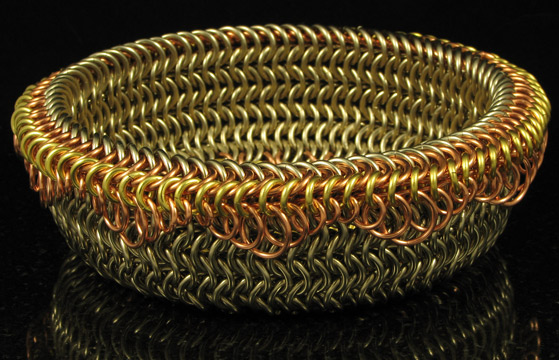 Basket Weave Chainmaille Tutorial : M a i l maille artisans international league gallery