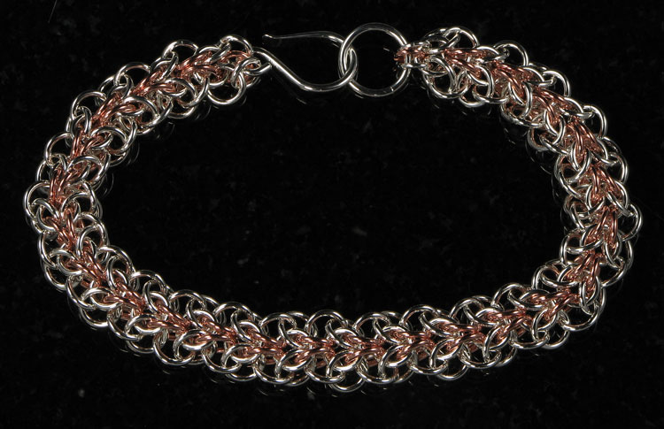 Symmetrical Allure Sheet Bracelet