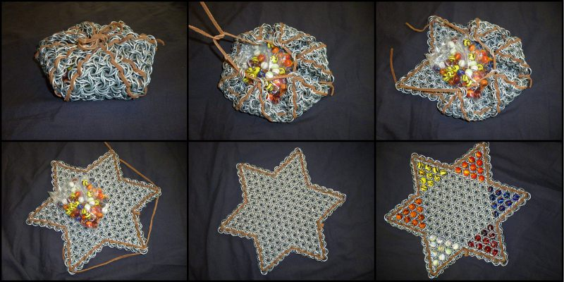 Chinese Checkers Board (Self-Containment Collage)