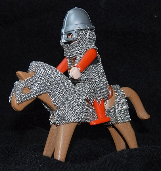 """Knight"" On His Horse"