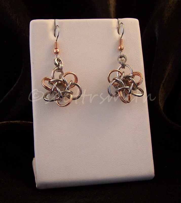 Celtic Rosette 6 Earrings