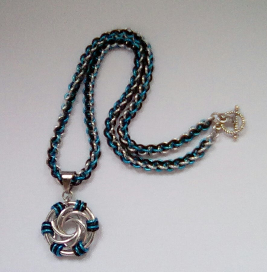 Swirls Pendant Necklace