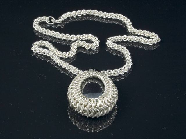Sterling Hematite Necklace