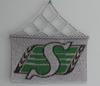 Saskatchewan Roughriders Inlay