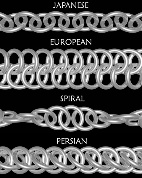 The Gallery For Gt Chainmail Rope Patterns
